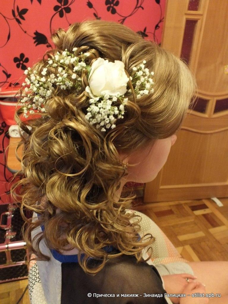 Прически свадебные с французскими косами фото6